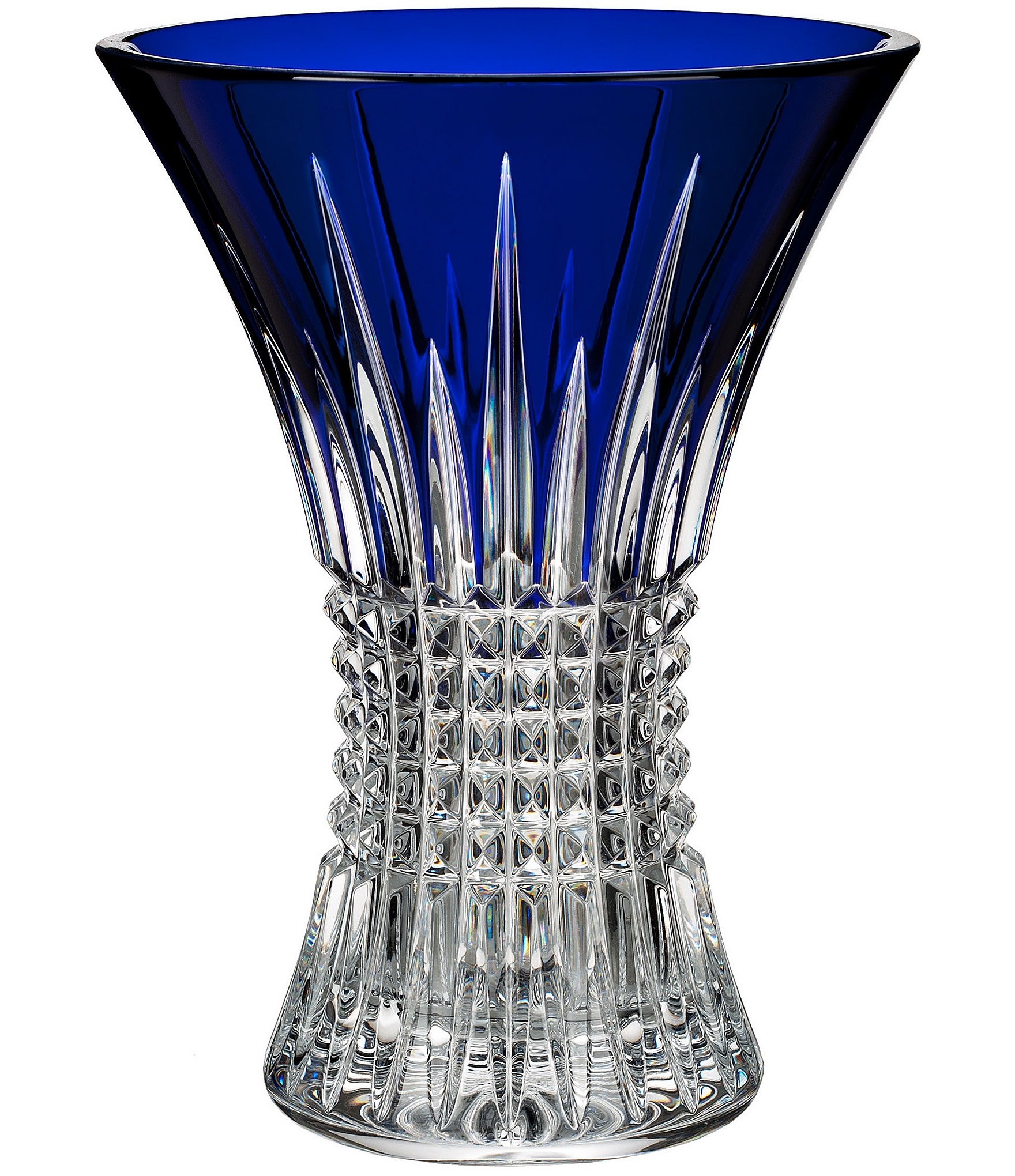 Waterford Lismore Diamond Crystal Vase Dillards