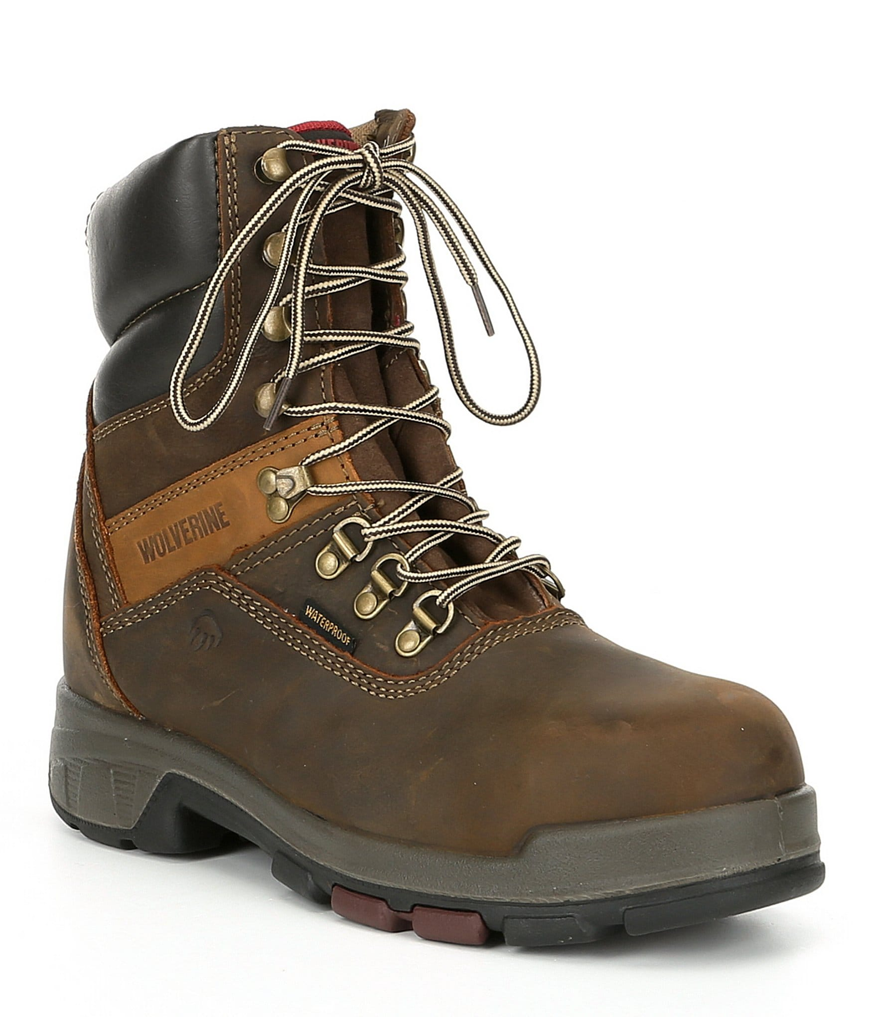 b7d5918b6f8 Wolverine Men's Cabor 8#double; Composite Toe Waterproof Slip Resistant  8#double; Work Boot