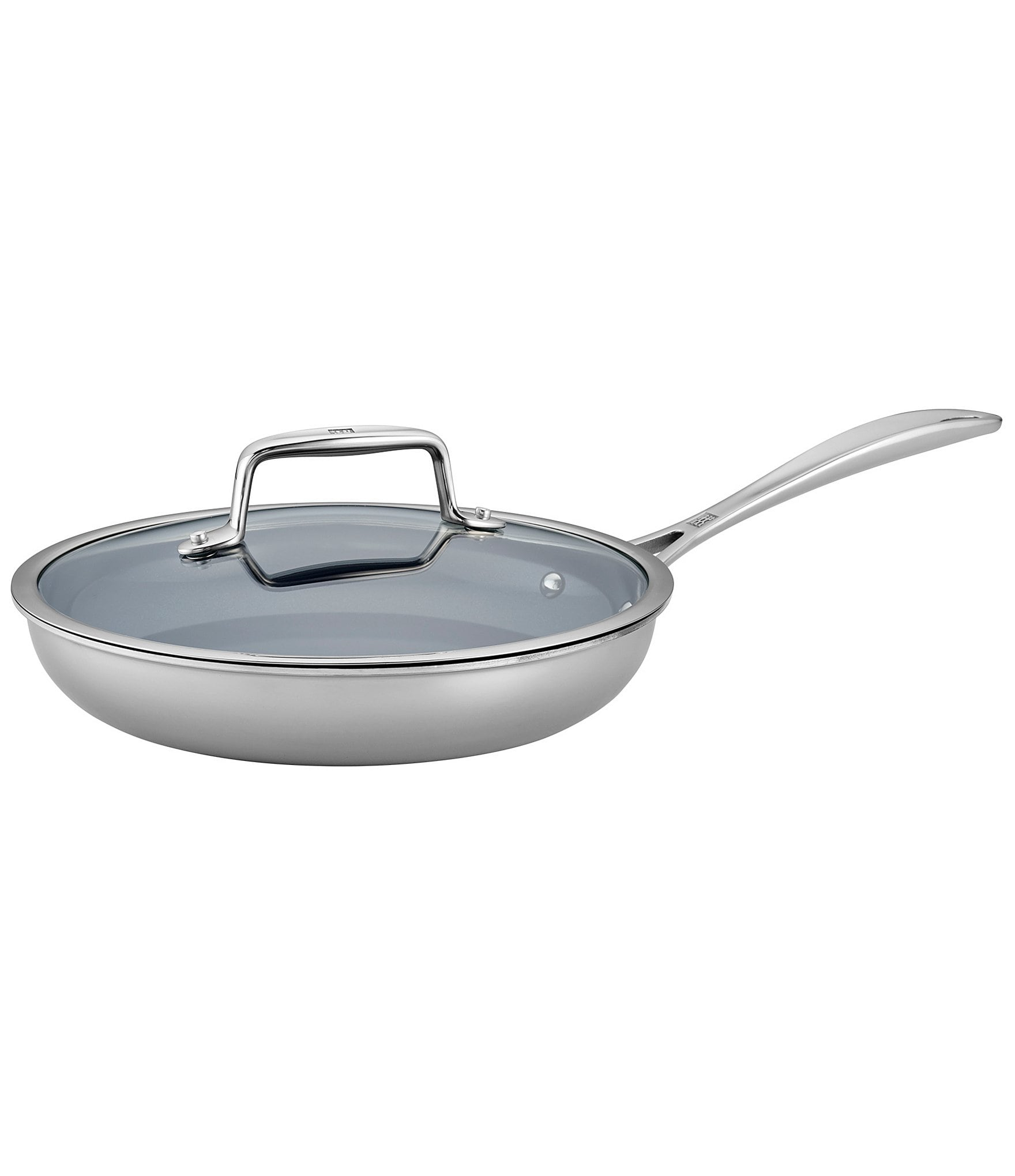 Zwilling Clad Cfx 2 Pc Stainless Steel Ceramic Nonstick